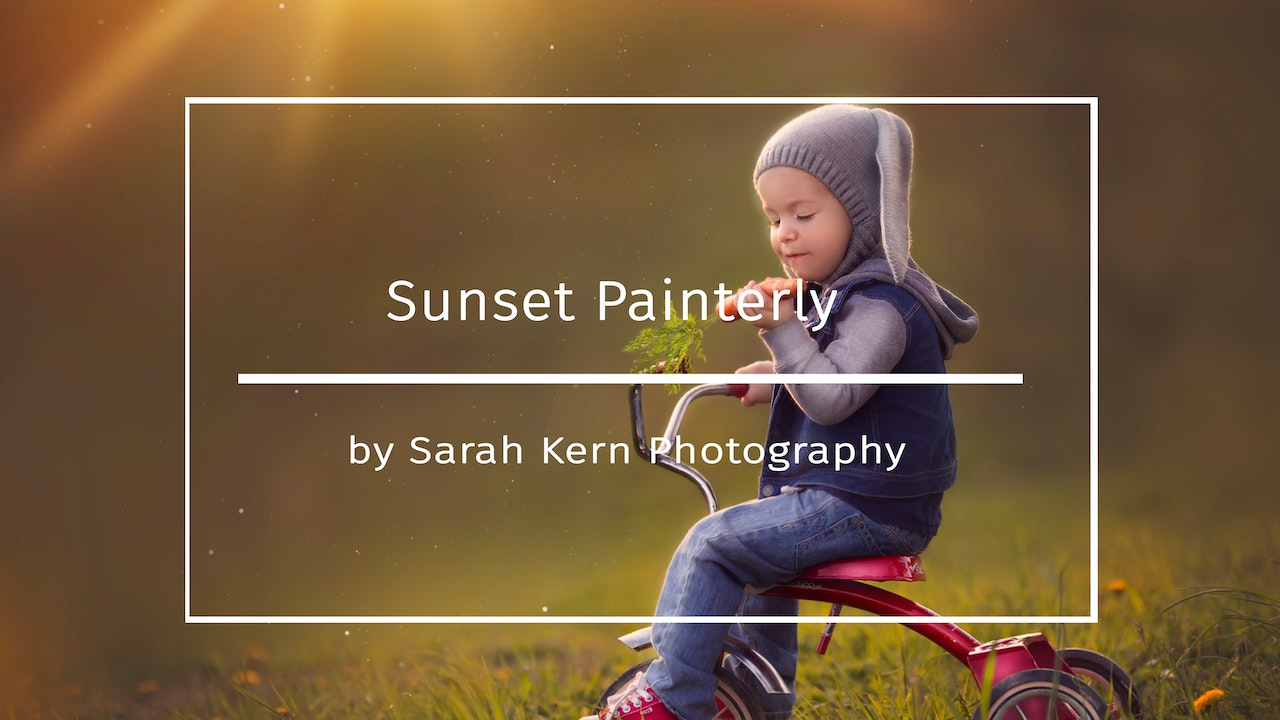 Sunset Painterly by Sarah Kern
