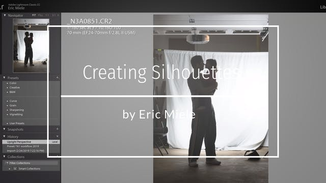 Creating a silhouette in photoshop tu...