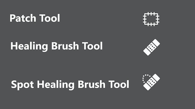 Patch Tool & Healing Brushes by Emily Julander - Feb 2020