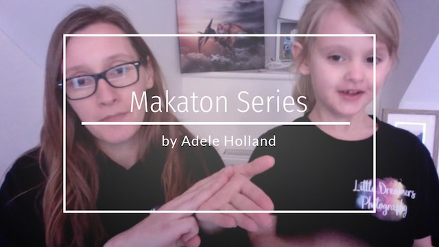 Makaton Sign Language by Adele Holland