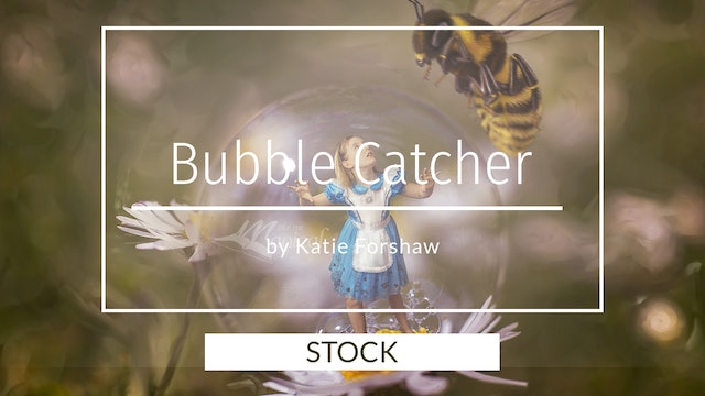 Daisy Bubble RAW image by Katie Forshaw - Makememagical