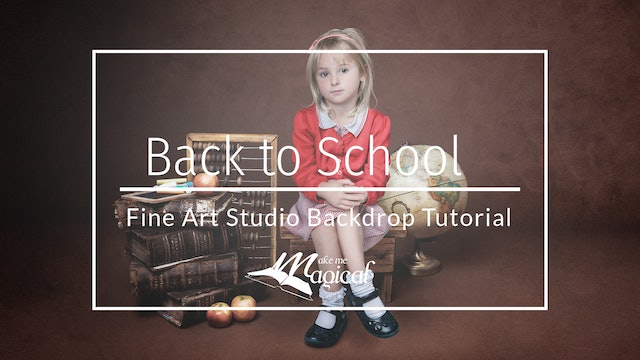 Back to School - Painterly Fine Art by Katie Forshaw - Makememagical March 2020