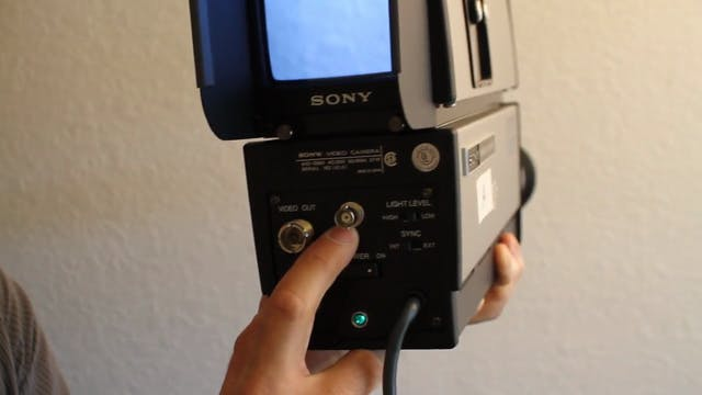 1969 Sony AVC-3260 Video Camera Tutor...