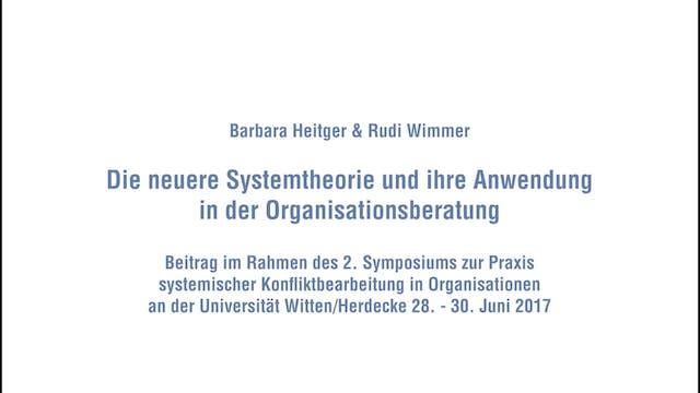 Die neuere Systemtheorie und ihre Anw...
