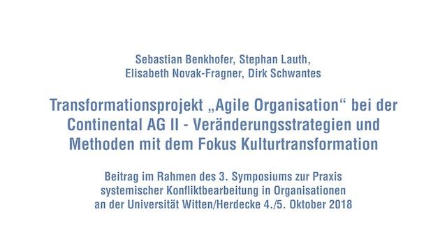Agile Transformation bei der Continental AG Teil II