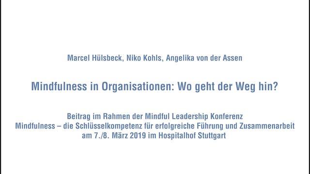 8-5 Podiumsgespräch - Mindfulness in ...