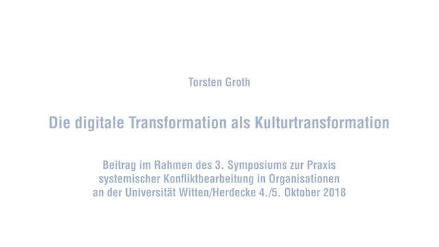 Die digitale Transformation als Kulturtransformation