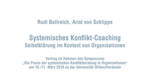 Systemische Beratung in Organisationskonflikten - Systemisches Konflikt-Coaching
