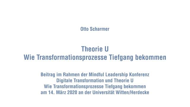 14-1.a Theorie U – Wie Transformationsprozesse Tiefgang bekommen