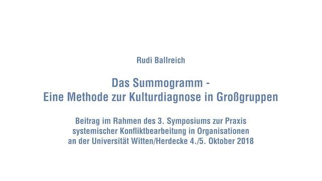 Das Summogramm