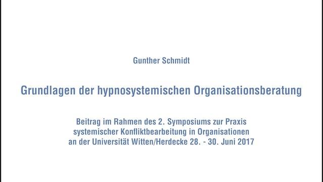 Grundlagen der hypnosystemischen Organisationsberatung