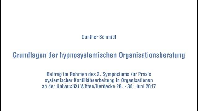 Grundlagen der hypnosystemischen Orga...