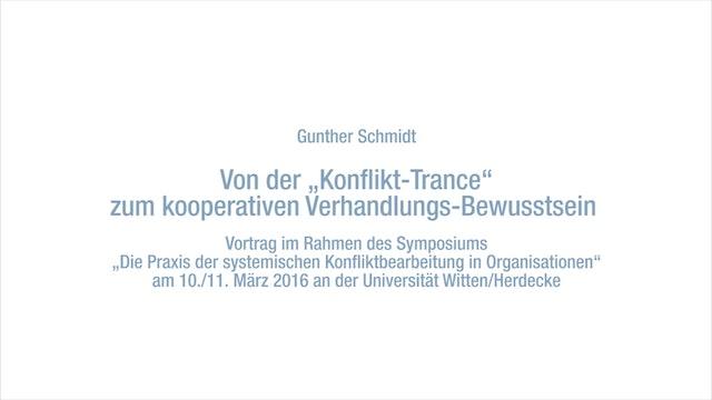 Von der Konflikt-Trance zum kooperativen Verhandlungs-Bewusstsein