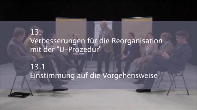 Verbesserung Reorganisation U-Prozedur