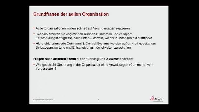Agile Transformation - Wie die Kultur...
