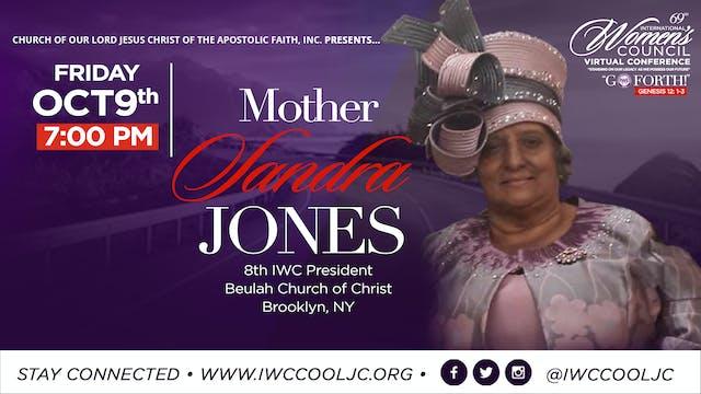 Evening Worship with Mother Sandra Jo...