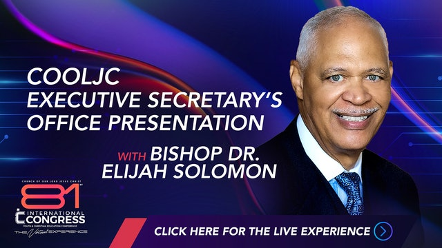 COOLJC Executive Secretary's Office Presentation