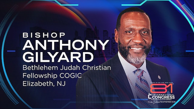 Evening  Worship Experience with Bishop Anthony W. Gilyard