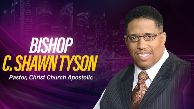 Midday Worship Service with  Bishop Shawn Tyson