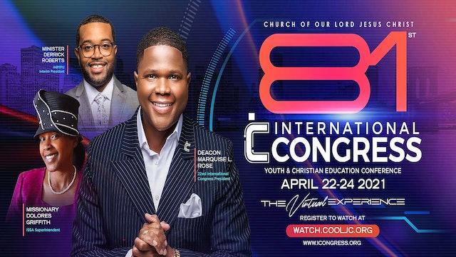 Saturday Night Post-show| #iCongress2021 #COOLJC