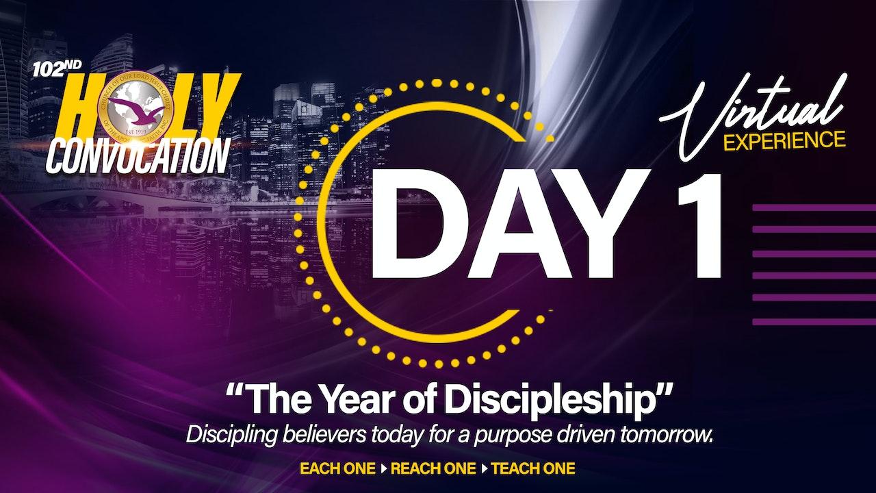 2021 International Convocation Day 1