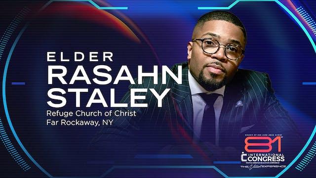 Workshop with Elder Rashan Staley
