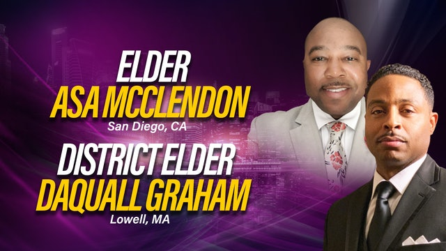 Workshop with  Elder DaQuall Graham and Elder Asa McClendon