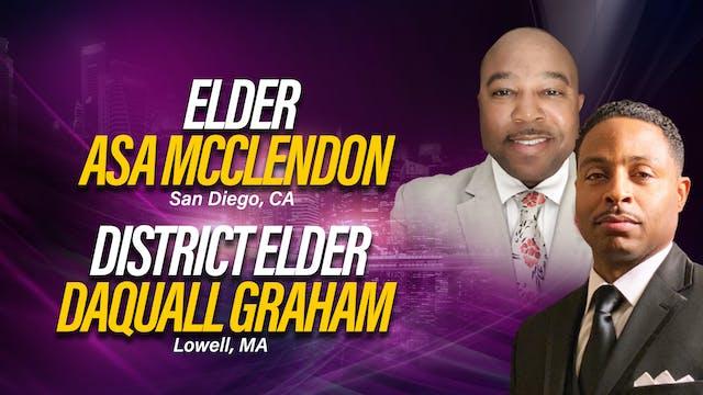 Workshop with  Elder DaQuall Graham a...