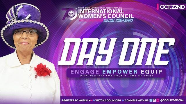 2021 International Women's Council Day 1