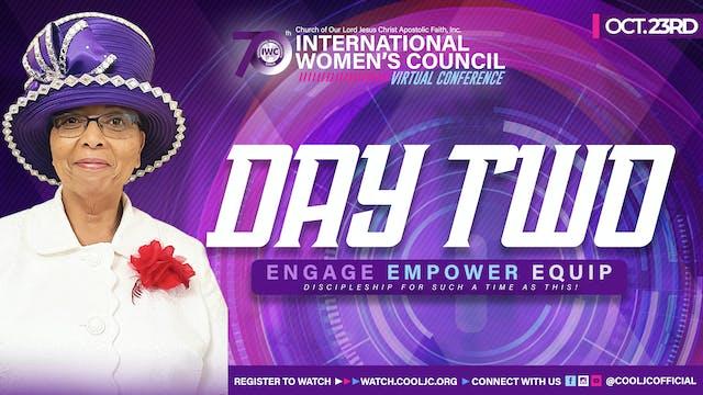 2021 International Women's Council Day 2