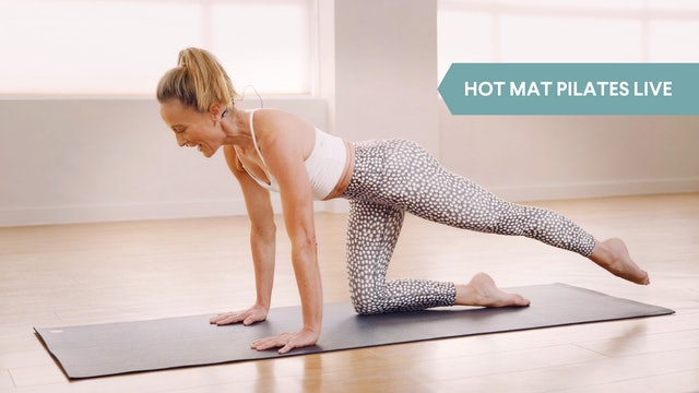 LIVE STREAM - Hot Mat Pilates with Carnie