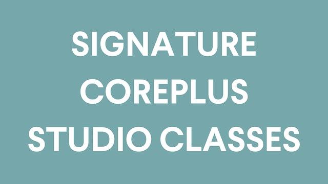 Signature CorePlus In-Studio Classes