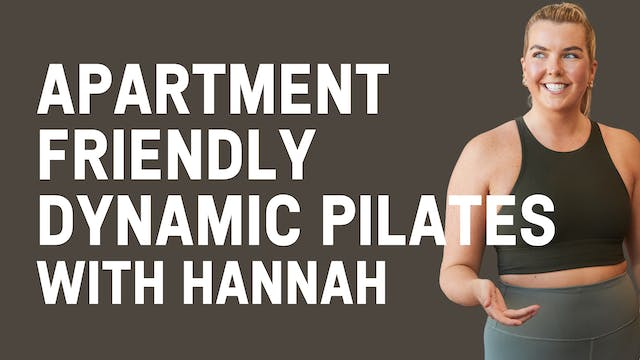 Apartment Friendly Dynamic Pilates wi...