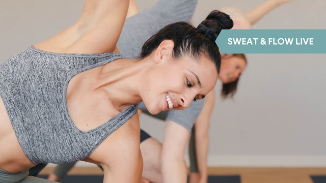 LIVE STREAM - Sweat & Flow with Olivia