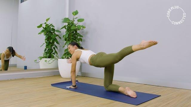 Stabilising Pilates Matwork with Elena