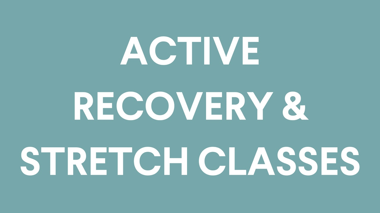 Athletic Recovery And Stretch Classes