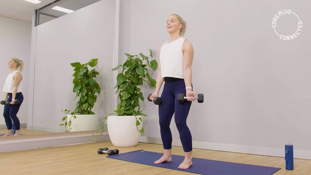 Upper Body Pilates Ladder with Maddi