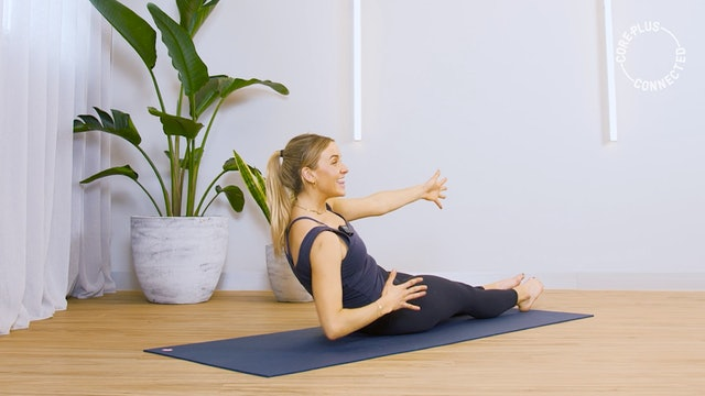 Glutes and Core Pilates Matwork with Lily