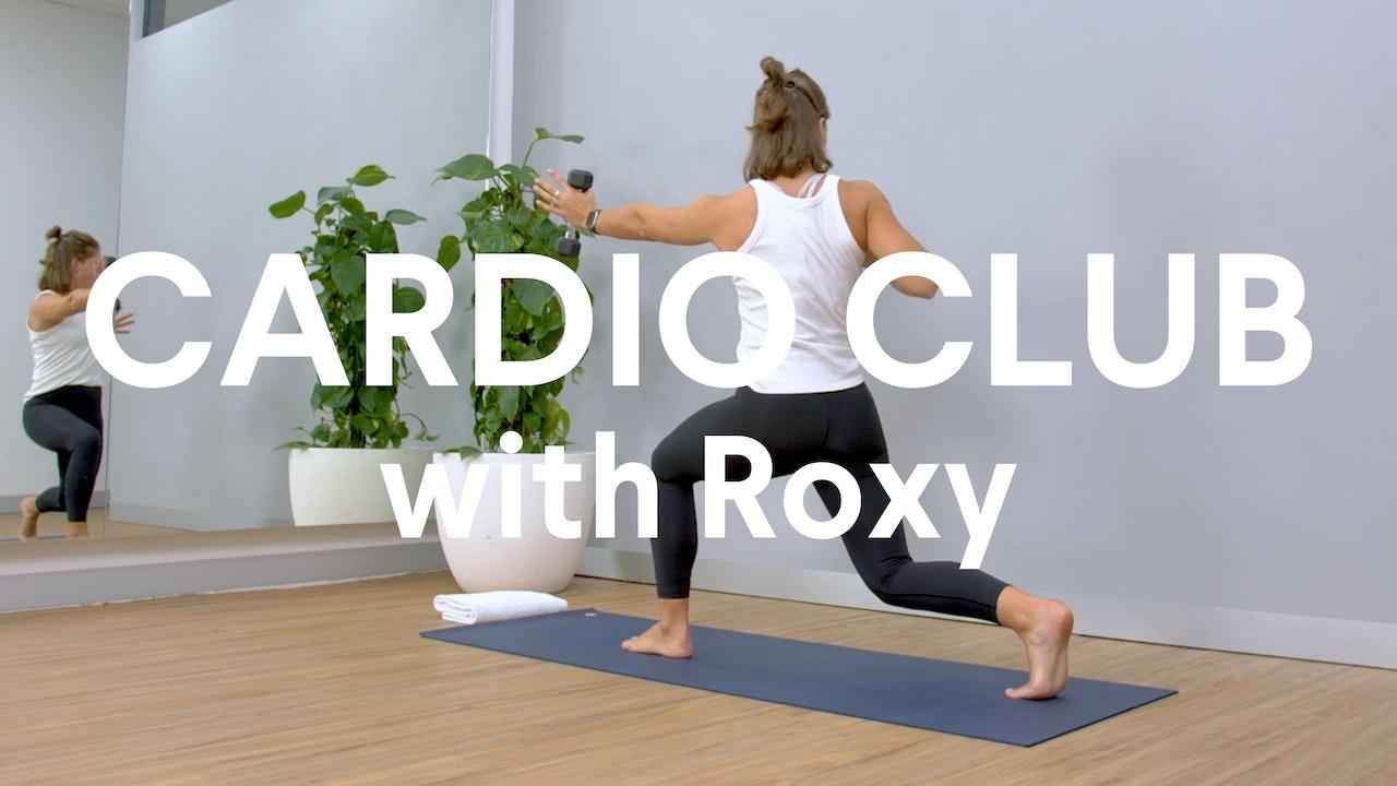 Cardio Club with Roxy