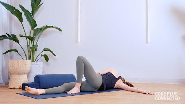 Restorative Yin and Guided Gratitude Meditation with Liz