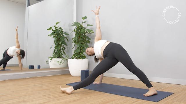 Tighter Is Lighter Yoga Flow with Sarah