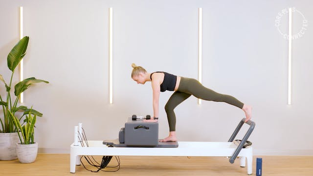 Athletic Reformer Box Work with Emily