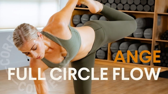LIVE STREAM - Full Circle Flow with Ange (30 mins)