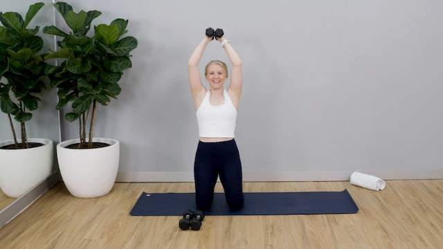 Hot Strength Cardio with Tayla - 1
