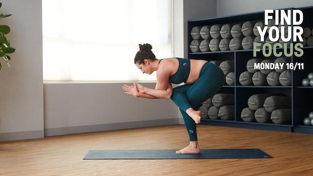 Eagle Pose Yoga Flow with Sarah