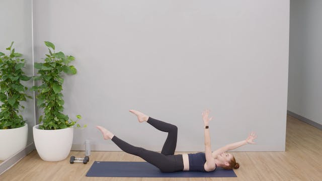 Hot Mat Pilates with Grace
