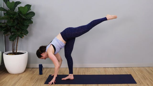 Intermediate Vinyasa Flow with Sarah