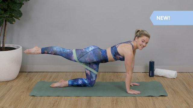 20 Minute Intermediate Mat Pilates with Maddi