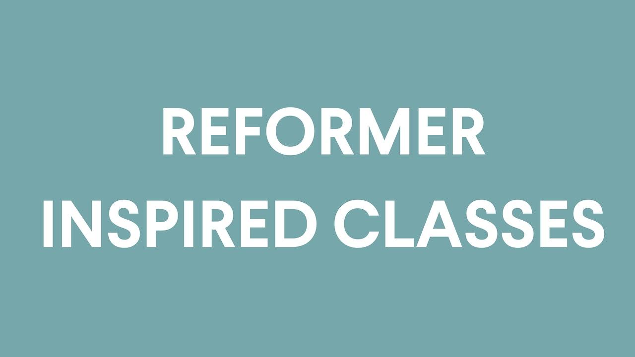Reformer Inspired Mat Pilates Classes