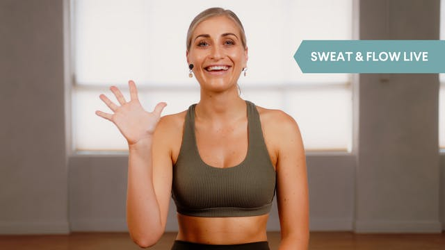 LIVE STREAM - Sweat & Flow with Ange